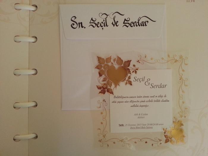 Davetiye üzerine isim yazma, hattat davetiye yazımı, düğün davetiyesine isim yazdırma