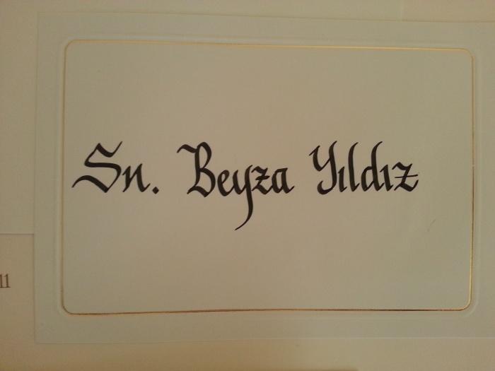 kaligrafi güzel yazı sanatı davetiye yazımı